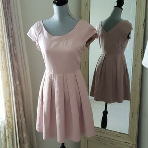 Blush dress / light pink dress